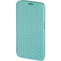 Luminous Dots Booklet Case for Samsung Galaxy S6 (Mint/White)