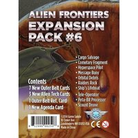 Alien Frontiers Expansion Pack #6 Board Game