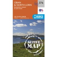 Oban and North Lorn by Ordnance Survey (Sheet map, folded, 2015)