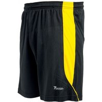 Precision Real Shorts 26-28 inch Black/Yellow