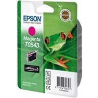 Epson C13T05434010 (T0543) Ink cartridge magenta, 400 pages, 13ml