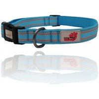 Long Paws Blue Comfort Collection Padded Collar XS