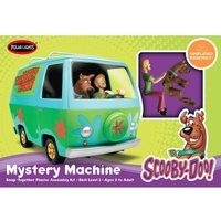 Scooby-Doo Mystery Machine 1:25 Model Snap Kit