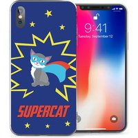 CASEFLEX APPLE IPHONE X SUPERCAT CASE / COVER (3D)