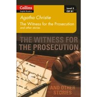 Witness for the Prosecution and other stories: B1 (Collins Agatha Christie ELT Readers) by Agatha Christie (Paperback, 2017)