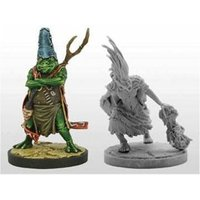 Dungeons & Dragons Collector's Series Rise of Tiamat Miniature - Pharblex & Sandesyl