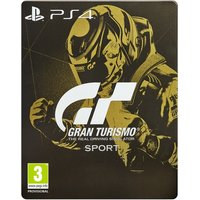 Gran Turismo GT Sport Steelbook Edition PS4 Game (PSVR Compatible)