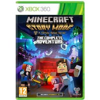 Minecraft Story Mode Complete Adventure Xbox 360 Game