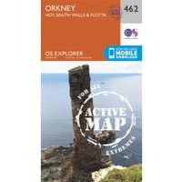 Orkney - Hoy, South Walls and Flotta by Ordnance Survey (Sheet map, folded, 2015)