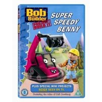 Bob The Builder Project Build It! Super Speedy Benny DVD