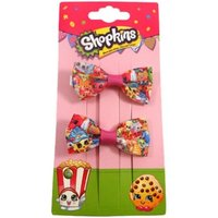 Shopkins Printed Grosgrain Bow Clips