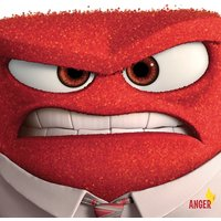 Inside Out - Anger Canvas