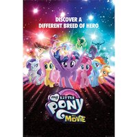 My Little Pony Movie - A Different Breed of Hero Maxi Poster