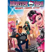 Monster High: Frights, Camera, Action DVD