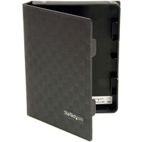 StarTech 2.5in Anti-Static Hard Drive Protector Case - Black (3pk)