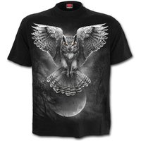 Wings of Wisdom Men's Large T-Shirt - Black