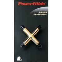 PowerGlide Brass Cross Rest