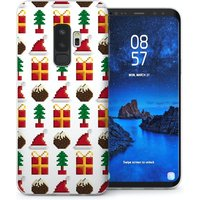 CASEFLEX SAMSUNG GALAXY S9 PLUS RETRO GAME CHRISTMAS PRESENTS & PUDDINGS PATTERN CASE / COVER (3D)