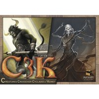 C3K Creatures Crossover Cyclades/Kemet Board Game