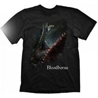 BLOODBORNE A Hunters Bloody Tool T-Shirt, Small, Black