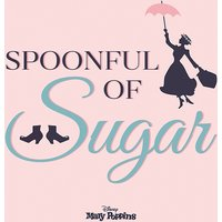 Mary Poppins - Spoonful of Sugar Canvas