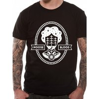 Moose Blood - One Colour Men's Medium T-Shirt - Black