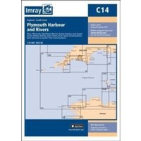 Imray Chart C14 : Plymouth Harbour and Rivers : C14