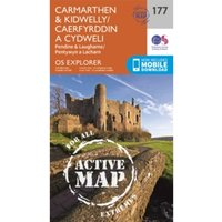 Carmarthen and Kidwelly by Ordnance Survey (Sheet map, folded, 2015)