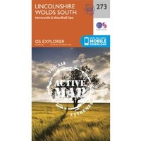 Lincolnshire Wolds South by Ordnance Survey (Sheet map, folded, 2015)