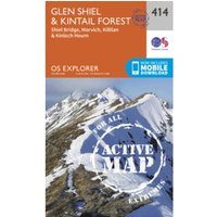 Glen Shiel and Kintail Forest : 414