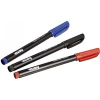 CD/DVD Markers Set of 3 Black/Red/Blue