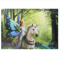 Large Realm Of Enchantment Canvas Picture by Anne Stokes