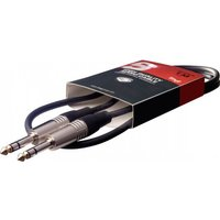 Stagg 6mm to 6mm Audio Deluxe Cable 1m