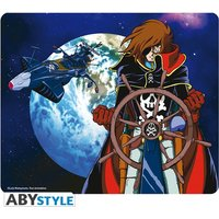 Captain Harlock - Space Pirate Mouse Mat