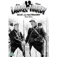 Laurel And Hardy - No. 4 - Ollie And Matrimony - Classic Shorts DVD