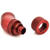 Bitspower Connection 45 degrees 1/4 inch to 10/8mm - rotatable blood red