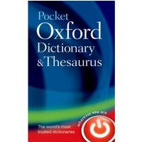 Pocket Oxford Dictionary and Thesaurus