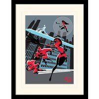 Incredibles 2 - To Action Mounted & Framed 30 x 40cm Print