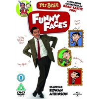 Mr Bean Funny Faces DVD