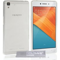 YouSave Accessories Oppo R7 Ultra Thin Gel Case - Clear