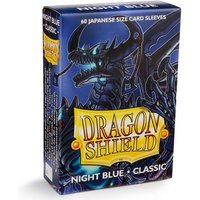 Dragon Shield Japanese Classic Night Blue 60 Sleeves In Box - 10 Packs