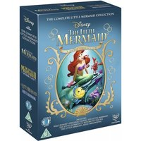 The Little Mermaid Triple Boxset 1, 2 & 3 DVD