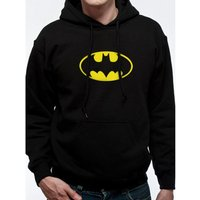 Batman - Logo Men's X-Large Hooded Jumper - Black