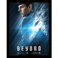 Star Trek Beyond - Spock Framed 30 x 40cm Print