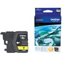 Brother LC-985Y Ink cartridge yellow, 260 pages, 5ml