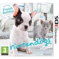 Ex-Display Nintendogs + Cats French Bulldog & New Friends Edition Game 3DS