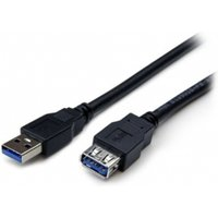 1m Black SuperSpeed USB 3.0 Extension Cable A to A - M/F