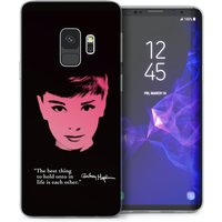 CASEFLEX SAMSUNG GALAXY S9 AUDREY HEPBURN QUOTE CASE / COVER (3D)