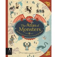 The Atlas of Monsters by Sandra Lawrence (Hardback, 2017)