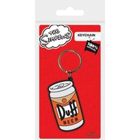 The Simpsons - Duff Keychain